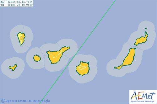 Gran Canaria Weather October Storm Warnings Orange Aviso 2015
