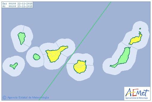 Gran Canaria Weather Warnings November 2018