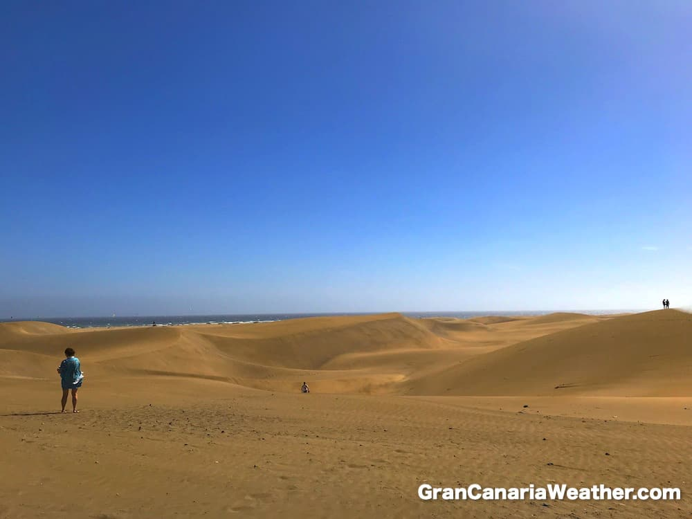 Gran Canaria Weather November Maspalomas Dunes 2017