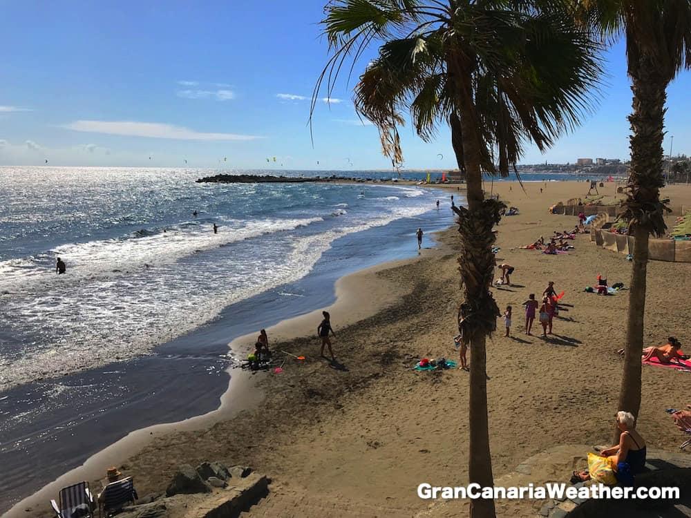 Gran Canaria Weather November San Agustin 2017