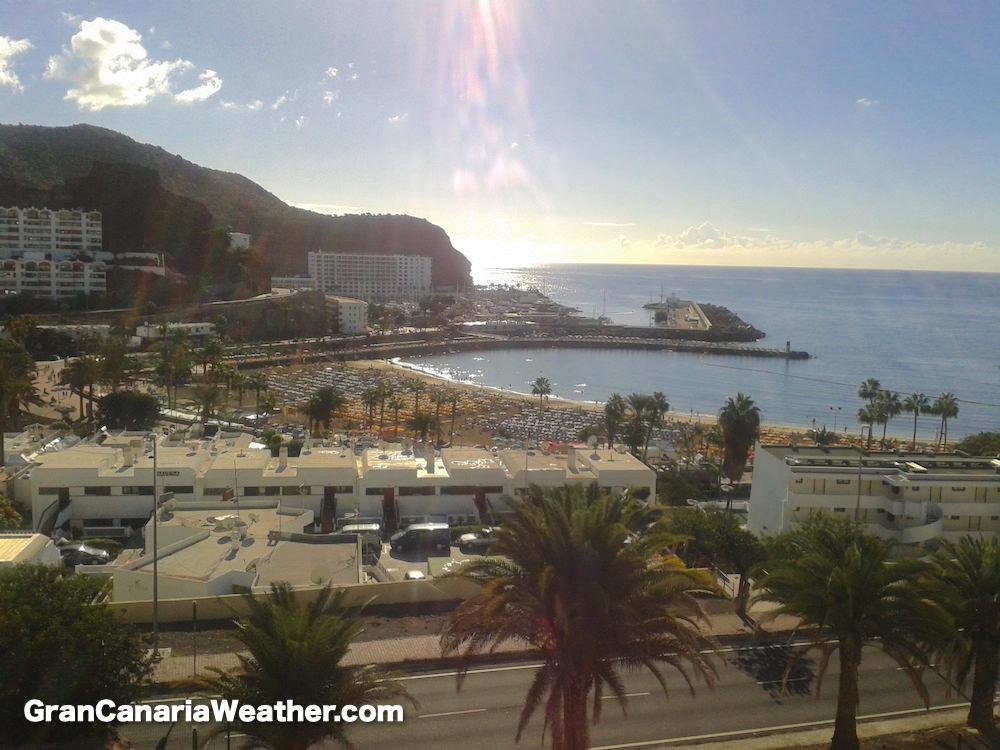 Gran Canaria Weather November Puerto Rico Beach 2012