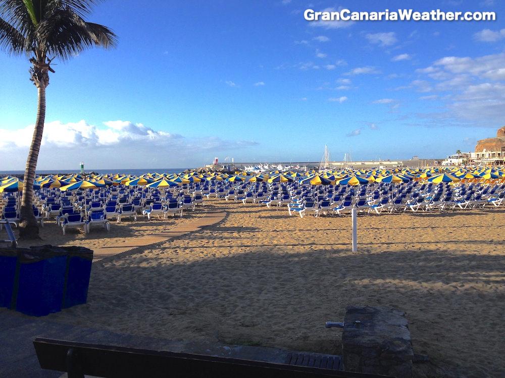 Gran Canaria Weather November Puerto Rico Beach 2013