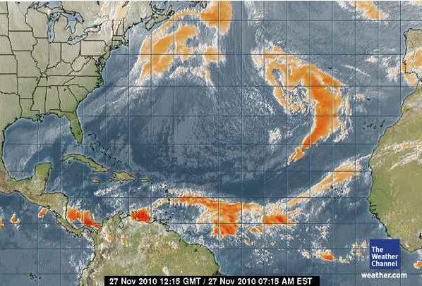 Gran Canaria Weather November Storm Warning 2010