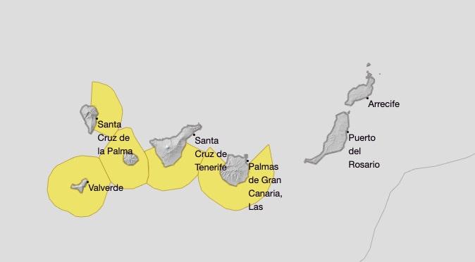 Gran Canaria Weather Warning July Strong Waves 2020