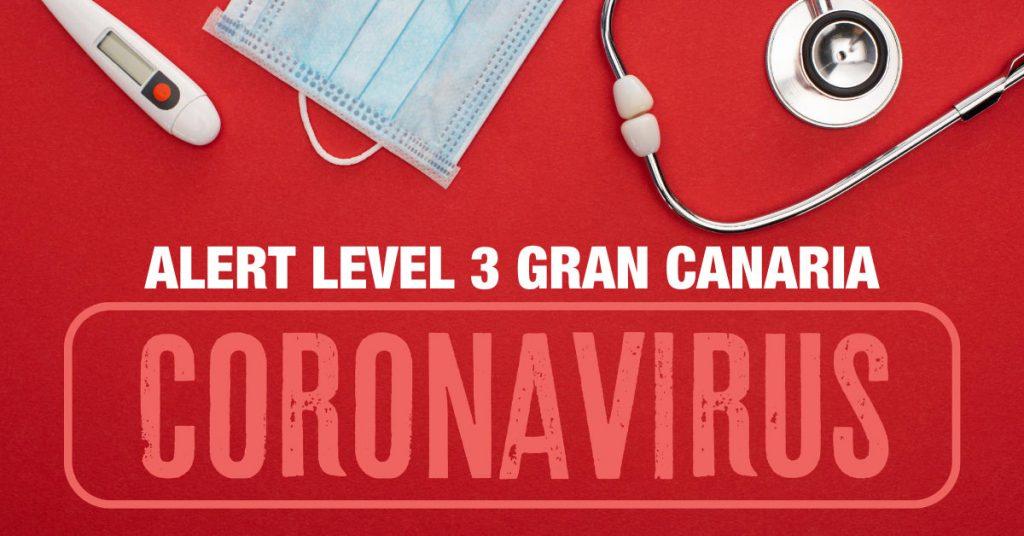Gran Canaria Alert Level 3 COVID-19 restrictions July 2021