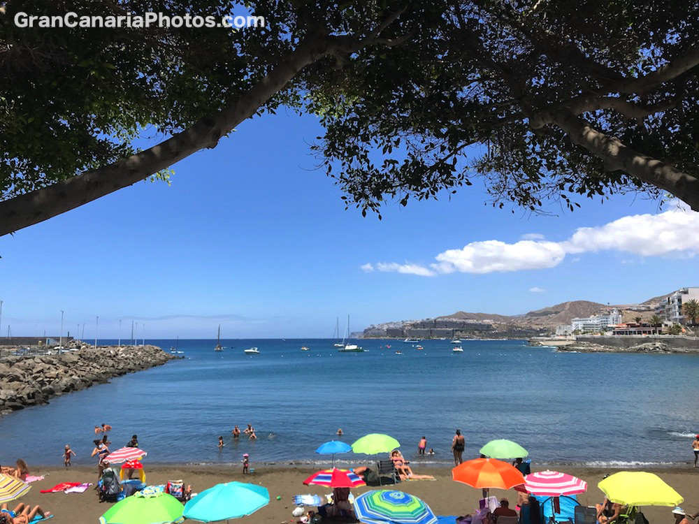 Las Marañuelas Beach Arguineguin Gran Canaria