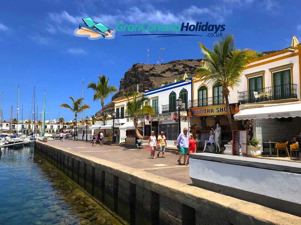 Mogan Harbour Gran Canaria