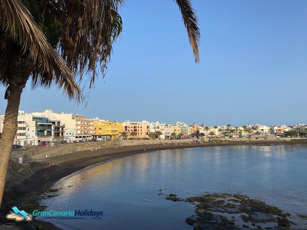 Hazy Las Marañuelas Beach Arguineguin | Gran Canaria Weather June 2021