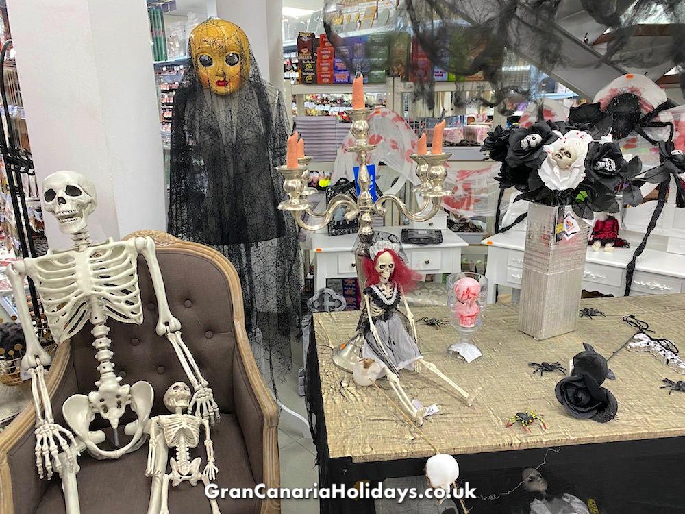 Maspalomas Shopping Home Halloween Decorations